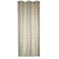 ILLUSION CURTAIN RECTO/VERSO BEIGE