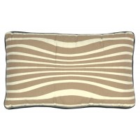 ILLUSION CUSHION REVERSIBLE BEIGE