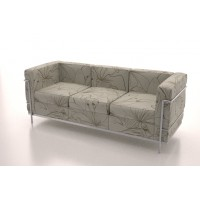 Corbusier 3 Seater (Flowers)