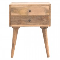 Modern Solid Wood Bedside