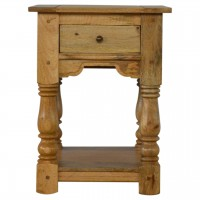 Granary Royale 1 Drawer Bedside with Shelf