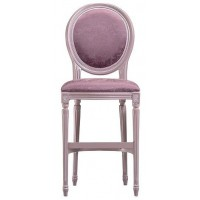 Louis Oval High Stool
